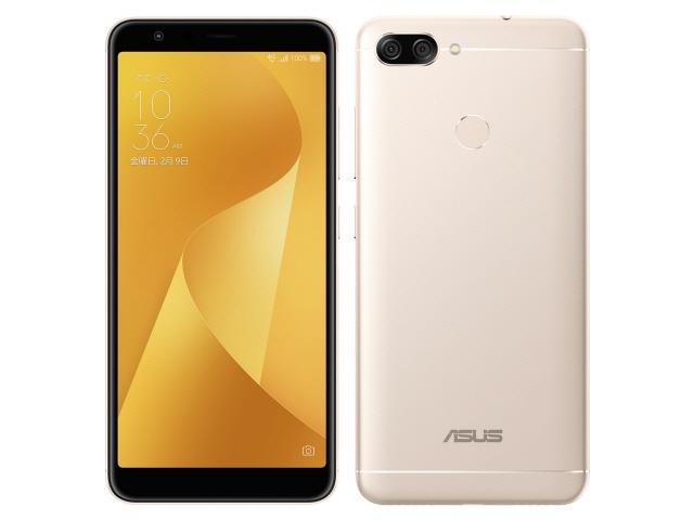 ASUS スマートフォン ZenFone Max Plus (M1) SIMフリー [サンライトゴールド] [キャリア:SIMフリー OS種類:Android 7.0 販売時期:2017年冬モデル 画面サイズ:5.7インチ 内蔵メモリ:ROM 32GB RAM 4GB バッテリー容量:4130mAh]