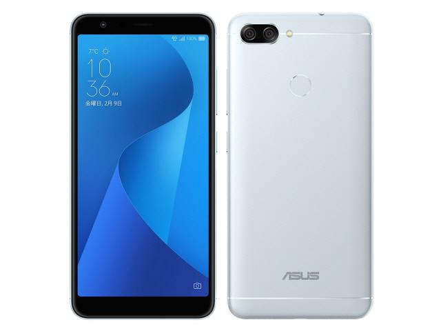 ASUS スマートフォン ZenFone Max Plus (M1) SIMフリー [アズールシルバー] [キャリア:SIMフリー OS種類:Android 7.0 販売時期:2017年冬モデル 画面サイズ:5.7インチ 内蔵メモリ:ROM 32GB RAM 4GB バッテリー容量:4130mAh]