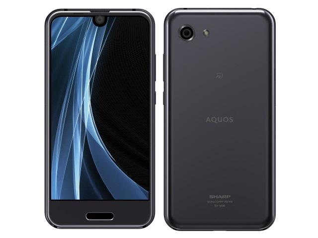 シャープ スマートフォン AQUOS R compact SH-M06 SIMフリー [シルバーブラック] [キャリア:SIMフリー OS種類:Android 8.0 販売時期:2017年冬モデル 画面サイズ:4.9インチ 内蔵メモリ:ROM 32GB RAM 3GB バッテリー容量:2500mAh]