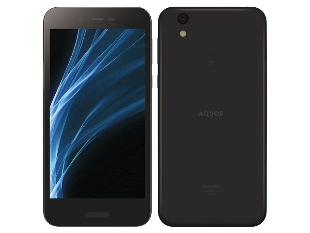 シャープ スマートフォン AQUOS sense lite SH-M05 SIMフリー [Black] [キャリア:SIMフリー OS種類:Android 7.1 販売時期:2017年冬モデル 画面サイズ:5インチ 内蔵メモリ:ROM 32GB RAM 3GB バッテリー容量:2700mAh]