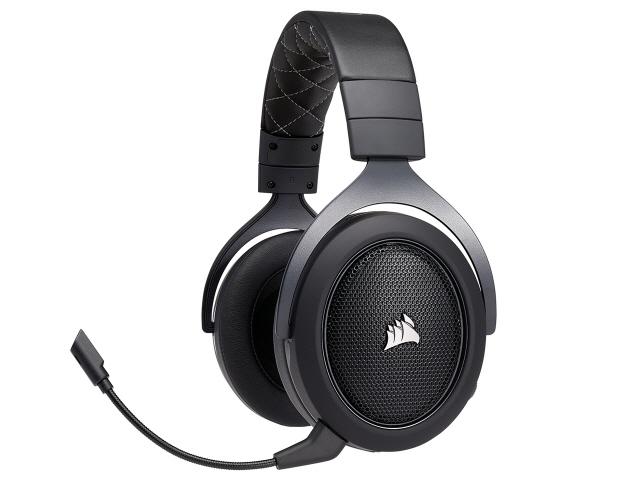 Corsair ヘッドセット Gaming HS70 Wireless CA-9011175-AP [Carbon] [ヘッドホンタイプ:オーバーヘッド 片耳用/両耳用:両耳用] 【】【人気】【売れ筋】【価格】