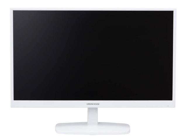 グリーンハウス 液晶モニタ・液晶ディスプレイ GH-LCW24FS-WH [23.6インチ ホワイト] [モニタサイズ:23.6インチ モニタタイプ:ワイド 解像度(規格):フルHD(1920x1080) 入力端子:D-Subx1/HDMIx1] 【】【人気】【売れ筋】【価格】