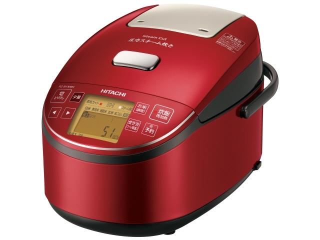 【キャッシュレス 5% 還元】 日立 炊飯器 打込鉄・釜 ふっくら御膳 RZ-BV100M(R) [メタリックレッド] 【】 【人気】 【売れ筋】【価格】