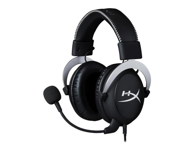 キングストン ヘッドセット HyperX CloudX HX-HS5CX-SR [ヘッドホンタイプ:オーバーヘッド プラグ形状:ミニプラグ 片耳用/両耳用:両耳用 ケーブル長さ:1.3m] 【エントリーでポイント10倍以上!SS期間中】