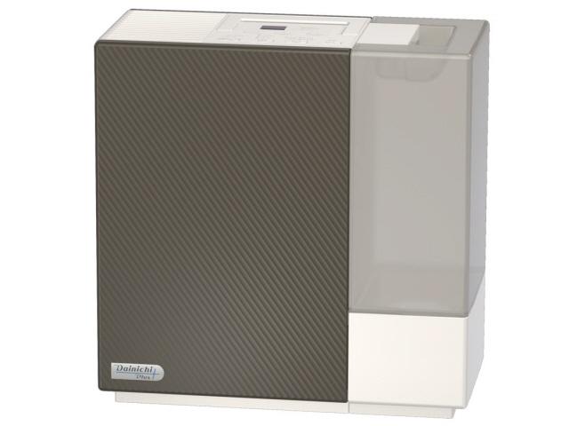 ダイニチ 加湿器 ダイニチプラス HD-RX518(T) [プレミアムブラウン] [加湿タイプ:ハイブリッド式(温風気化式) 設置タイプ:据え置き 適用畳数(木造和室):8.5畳 適用畳数(プレハブ洋室):14畳 タンク容量:5L その他機能:自動運転/チャイルドロック]