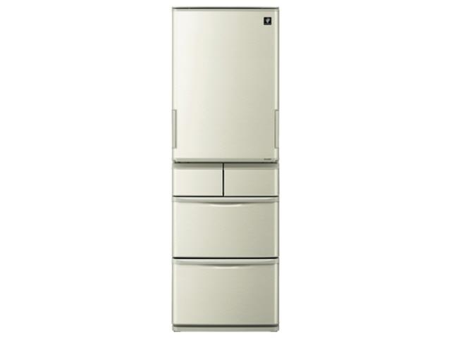 【代引不可】シャープ 冷凍冷蔵庫 SJ-W411E [省エネ評価:★★★ ドアの開き方:左右開き タイプ:冷凍冷蔵庫 ドア数:5ドア 定格内容積:412L] 【】 【人気】 【売れ筋】【価格】