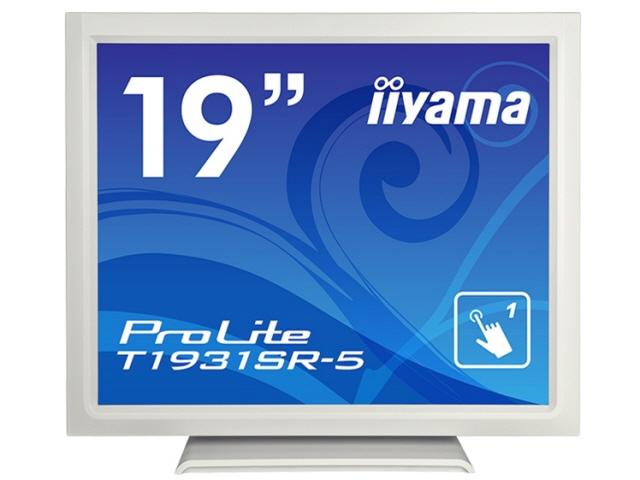 iiyama 液晶モニタ・液晶ディスプレイ ProLite T1931SR-5 T1931SR-W5 [19インチ ピュアホワイト] [モニタサイズ:19インチ モニタタイプ:スクエア 解像度(規格):SXGA 入力端子:D-Subx1/HDMIx1/USBx1/DisplayPortx1] 【】【人気】【売れ筋】【価格】
