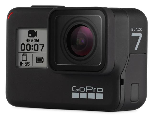 GoPro ビデオカメラ HERO7 BLACK CHDHX-701-FW [タイプ:アクションカメラ 画質:4K 本体重量:116g]  【人気】 【売れ筋】【価格】