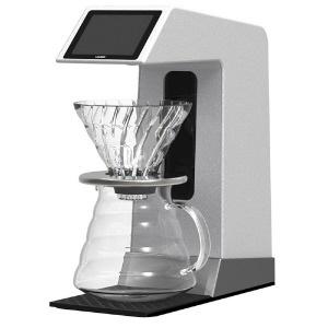 【キャッシュレス 5% 還元】 HARIO コーヒーメーカー V60 オートプアオーバー Smart7 BT EVS-70SV-BT [容量:5杯 フィルター:紙フィルター コーヒー:○] 【】 【人気】 【売れ筋】【価格】