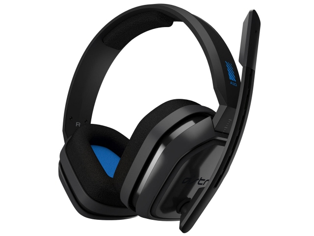 ロジクール ヘッドセット Astro A10 Headset [グレー/ブルー] [ヘッドホンタイプ:オーバーヘッド プラグ形状:ミニプラグ 片耳用/両耳用:両耳用 ケーブル長さ:2m] 【】 【人気】 【売れ筋】【価格】