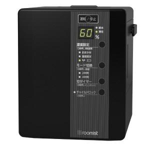 三菱重工 加湿器 roomist SHE35RD-K [ブラック] [加湿タイプ:スチーム式 設置タイプ:据え置き 適用畳数(木造和室):6畳 適用畳数(プレハブ洋室):10畳 タンク容量:2.8L その他機能:自動運転/除菌/アロマ/チャイルドロック]
