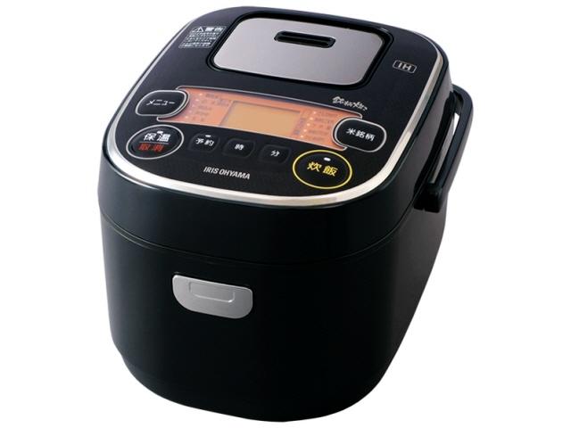 【キャッシュレス 5% 還元】 アイリスオーヤマ 炊飯器 銘柄炊き RC-IE30 [ブラック] 【】 【人気】 【売れ筋】【価格】
