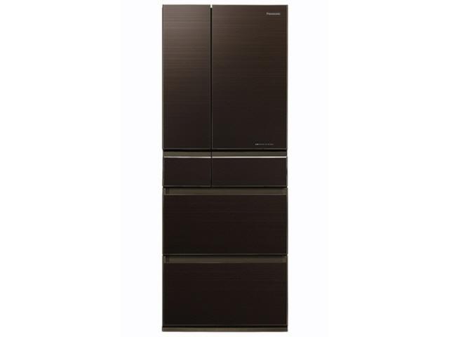 【代引不可】パナソニック 冷凍冷蔵庫 NR-F454HPX-T [マチュアダークブラウン] [ドアの開き方:フレンチドア(観音開き) タイプ:冷凍冷蔵庫 ドア数:6ドア 定格内容積:450L]