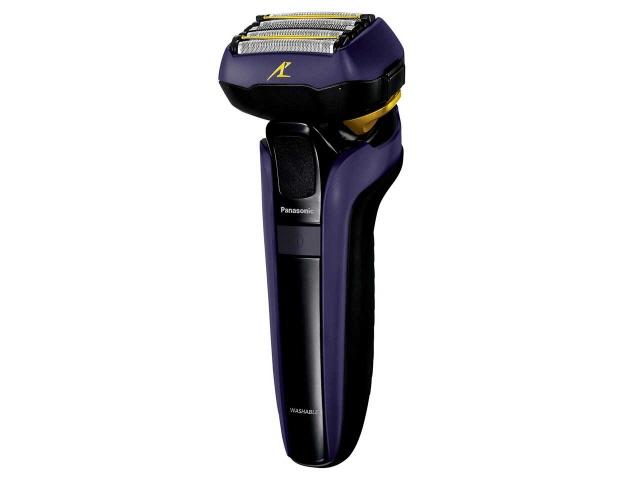 パナソニック シェーバー ラムダッシュ ES-LV7D-A [青] [刃の枚数:5枚刃 駆動方式:往復式 電源方式:充電交流 洗浄機能:音波洗浄 その他機能:水洗い/海外使用/キワゾリ刃]