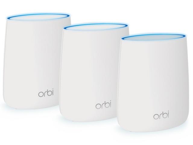 【ポイント5倍以上!最大3,000円OFFクーポン!9日~16日】 NETGEAR 無線LANブロードバンドルーター Orbi Micro RBK23-100JPS [無線LAN規格:IEEE802.11a/b/g/n/ac 接続環境:45台(Orbiデバイス1台あたり15台)] 【】【人気】【売れ筋】【価格】