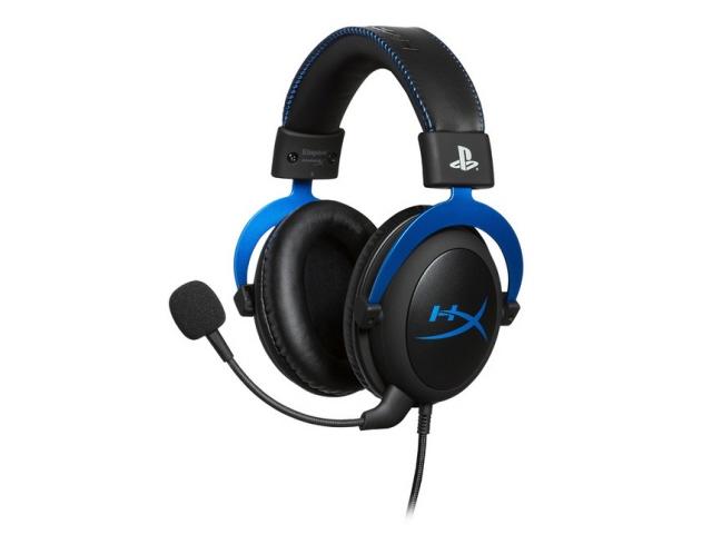 キングストン ヘッドセット HyperX Cloud PS4 HX-HSCLS-BL/AS [ヘッドホンタイプ:オーバーヘッド プラグ形状:ミニプラグ 片耳用/両耳用:両耳用 ケーブル長さ:1.3m] 【】【人気】【売れ筋】【価格】