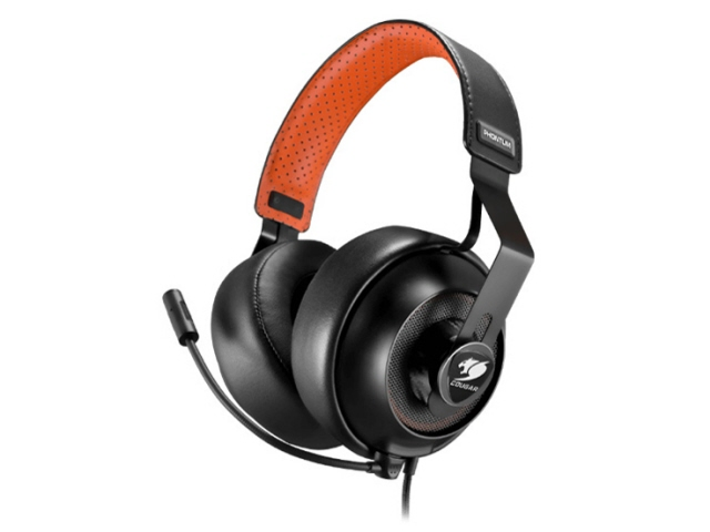 【キャッシュレス 5% 還元】 COUGAR ヘッドセット PHONTUM CGR-P53NB-500 [ヘッドホンタイプ:オーバーヘッド プラグ形状:ミニプラグ 装着タイプ:両耳用] 【】 【人気】 【売れ筋】【価格】