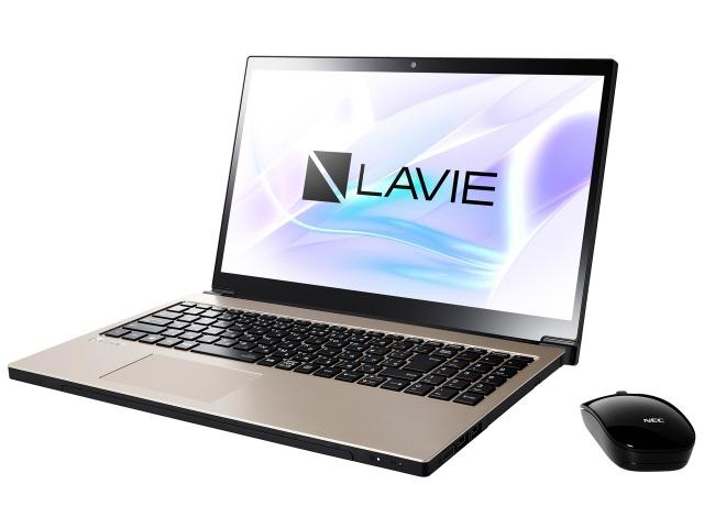 NEC ノートパソコン LAVIE Note NEXT NX750/LAG PC-NX750LAG [クレストゴールド] [液晶サイズ:15.6インチ CPU:Core i7 8550U(Kaby Lake Refresh)/1.8GHz/4コア CPUスコア:8300 ストレージ容量:1TB HDD + 16GB Optaneメモリ メモリ容量:8GB OS:Windows 10 Home 64bit]