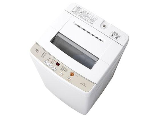 【代引不可】AQUA 洗濯機 AQW-S60G [洗濯機スタイル:簡易乾燥機能付洗濯機 開閉タイプ:上開き 洗濯容量:6kg] 【】【人気】【売れ筋】【価格】