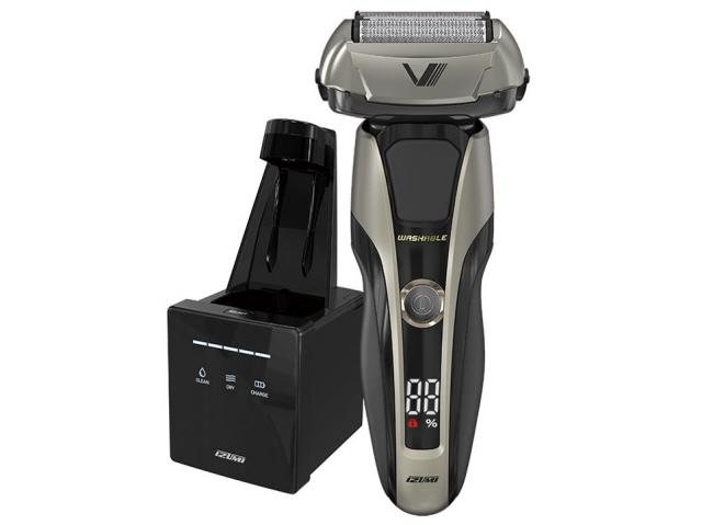 【キャッシュレス 5% 還元】 マクセルイズミ シェーバー Z-DRIVE IZF-V998 [刃の枚数:5枚刃 駆動方式:往復式 電源方式:充電交流 洗浄機能:全自動クリーニングシステム その他機能:水洗い/海外使用/キワゾリ刃] 【】 【人気】 【売れ筋】【価格】