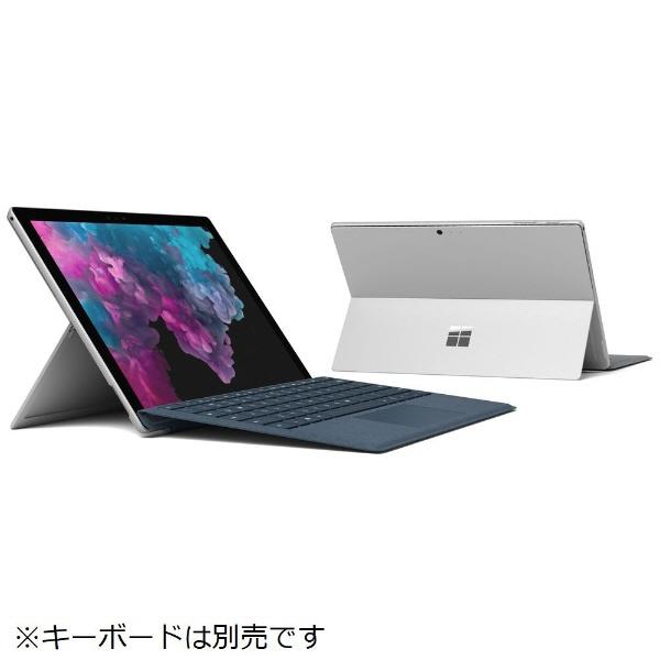 マイクロソフト タブレットPC(端末)・PDA Surface Pro 6 KJT-00014 [プラチナ] 【キーボード無し】 [OS種類:Windows 10 Home(April 2018 Update 適用済み) 画面サイズ:12.3インチ CPU:Core i5 8250U/1.6GHz 記憶容量:256GB] 【】【人気】【売れ筋】【価格】