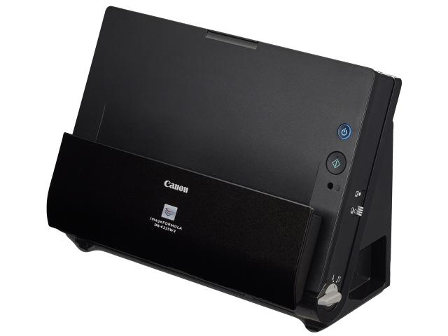 【キャッシュレス 5% 還元】 【ポイント5倍】CANON スキャナ imageFORMULA DR-C225 II [原稿サイズ:A4/はがき/名刺 光学解像度:600dpi インターフェース:USB2.0 幅x高さx奥行き:300x220x156mm]  【人気】 【売れ筋】【価格】
