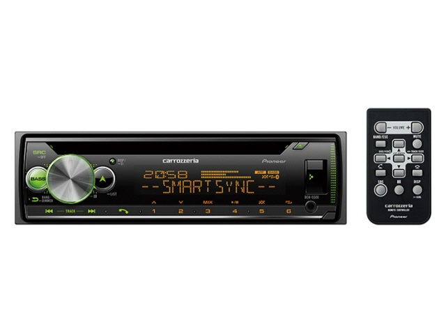 パイオニア カーオーディオ DEH-5500 [タイプ:プレーヤー 取付形状:1DIN 搭載プレーヤー:CD Bluetooth:Bluetooth 4.0 certified 最大出力:50Wx4] 【要エントリー!お買い物マラソン期間限定!】