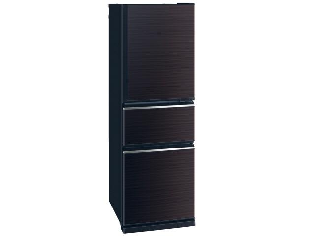 【代引不可】三菱電機 冷凍冷蔵庫 MR-CX27D-BR [グロッシーブラウン] [省エネ評価:★★★★★ ドアの開き方:右開き タイプ:冷凍冷蔵庫 ドア数:3ドア 定格内容積:272L]