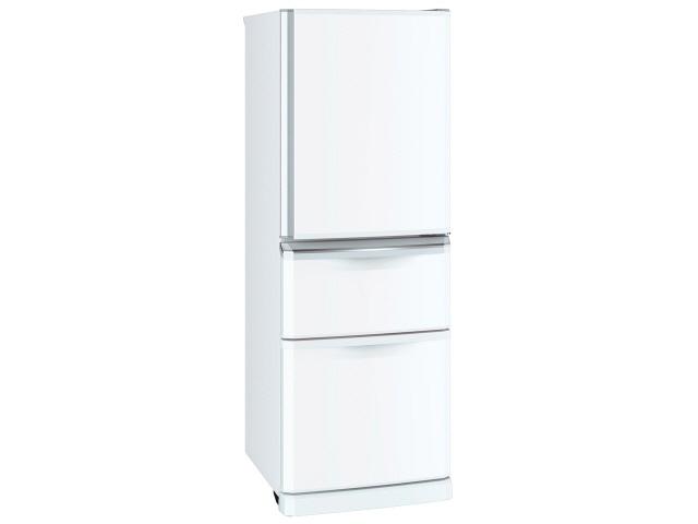 【代引不可】三菱電機 冷凍冷蔵庫 MR-C34D-W [パールホワイト] [省エネ評価:★★ ドアの開き方:右開き タイプ:冷凍冷蔵庫 ドア数:3ドア 定格内容積:335L] 【】【人気】【売れ筋】【価格】