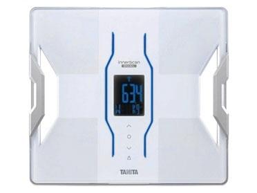 タニタ 体脂肪計・体重計 インナースキャンデュアル RD-908 [ホワイト] [タイプ:体組成計 測定部位:足裏 サイズ:298x31x328mm 重量:2100g] 【キャッシュレス 5%  還元】