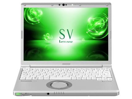 パナソニック ノートパソコン Let's note SV7 CF-SV7HDWQR [液晶サイズ:12.1インチ CPU:Core i5 8250U(Kaby Lake Refresh)/1.6GHz/4コア CPUスコア:7677 ストレージ容量:SSD:256GB メモリ容量:8GB OS:Windows 10 Pro 64bit(April 2018 Update搭載)]