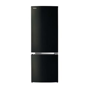 【代引不可】東芝 冷凍冷蔵庫 GR-P17BS(K) [メタリックブラック] [ドアの開き方:右開き タイプ:冷凍冷蔵庫 ドア数:2ドア 定格内容積:170L] 【】 【人気】 【売れ筋】【価格】