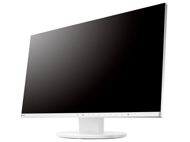 【キャッシュレス 5% 還元】 EIZO 液晶モニタ・液晶ディスプレイ FlexScan EV2450-ZWT [23.8インチ ホワイト] [モニタサイズ:23.8インチ モニタタイプ:ワイド 解像度(規格):フルHD(1920x1080) 入力端子:DVIx1/D-Subx1/HDMIx1/DisplayPortx1]