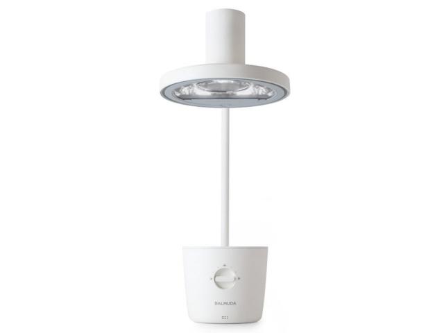 【キャッシュレス 5% 還元】 バルミューダ スタンドライト・デスクライト The Light L01A-WH [ホワイト] [設置方法:スタンド 光源:LED 調光機能:6段階 消費電力:14W] 【】 【人気】 【売れ筋】【価格】