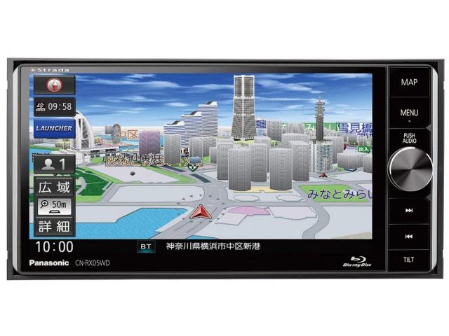 パナソニック カーナビ ストラーダ CN-RX05WD [記録メディアタイプ:メモリ 設置タイプ:一体型(2DIN) 画面サイズ:7型 TVチューナー:フルセグ(地デジ)] 【】 【人気】 【売れ筋】【価格】