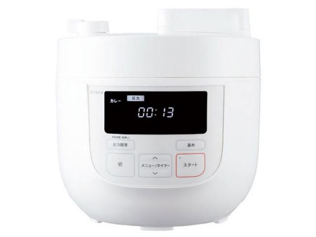 シロカ 圧力鍋 SP-4D131 [タイプ:電気圧力鍋 容量:4L 重量:4.4kg] 【】【人気】【売れ筋】【価格】