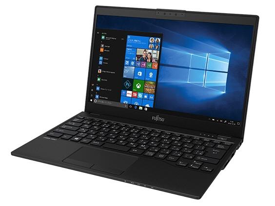 富士通 ノートパソコン FMV LIFEBOOK UH90/C3 FMVU90C3B [液晶サイズ:13.3インチ CPU:Core i7 8565U(Whiskey Lake)/1.8GHz/4コア CPUスコア:9080 ストレージ容量:SSD:256GB メモリ容量:8GB OS:Windows 10 Home 64bit]
