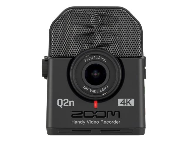 【キャッシュレス 5% 還元】 ZOOM ビデオカメラ Handy Video Recorder Q2n-4K [タイプ:ハンディカメラ 画質:4K 撮影時間:30分 本体重量:124g 撮像素子:CMOS 1/2.3型] 【】 【人気】 【売れ筋】【価格】