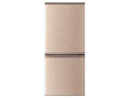【代引不可】シャープ 冷凍冷蔵庫 SJ-D14E-N [ブロンズ系] [省エネ評価:★★★★★ タイプ:冷凍冷蔵庫 ドア数:2ドア 定格内容積:137L] 【】 【人気】 【売れ筋】【価格】