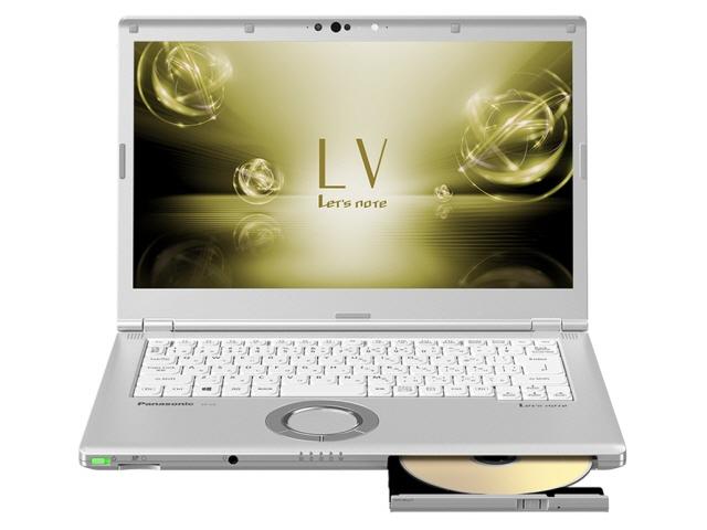 パナソニック ノートパソコン Let's note LV7 CF-LV7HDFVS [液晶サイズ:14インチ CPU:Core i5 8250U(Kaby Lake Refresh)/1.6GHz/4コア CPUスコア:7677 ストレージ容量:SSD:128GB メモリ容量:8GB OS:Windows 10 Pro 64bit] 【】【人気】【売れ筋】【価格】