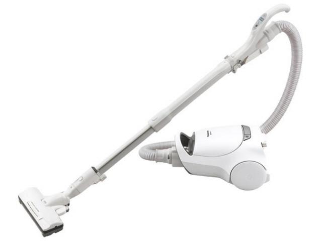 【キャッシュレス 5% 還元】 パナソニック 掃除機 MC-PA110G-W [ホワイト] [タイプ:キャニスター 集じん容積:1.4L 吸込仕事率:540W] 【】 【人気】 【売れ筋】【価格】