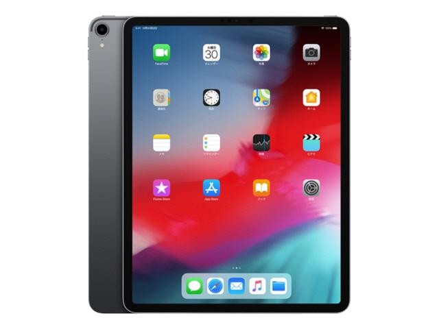 APPLE タブレットPC(端末)・PDA iPad Pro 12.9インチ Wi-Fi 64GB MTEL2J/A [スペースグレイ] [OS種類:iOS 12 画面サイズ:12.9インチ CPU:Apple A12X 記憶容量:64GB] 【エントリーでポイント10倍以上!SS期間中】