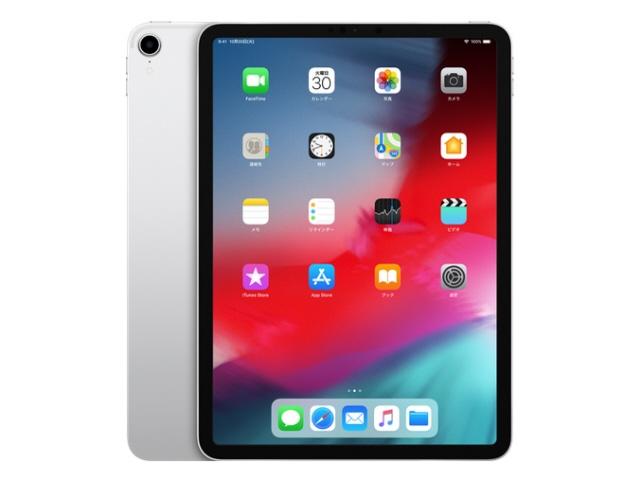 Apple タブレットPC(端末)・PDA iPad Pro 11インチ 第1世代 Wi-Fi 256GB MTXR2J/A [シルバー] [画面サイズ:11インチ 画面解像度:2388x1668 詳細OS種類:iOS ネットワーク接続タイプ:Wi-Fiモデル ストレージ容量:256GB CPU:Apple A12X]