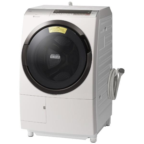 【代引不可】日立 洗濯機 ヒートリサイクル 風アイロン ビッグドラム BD-SX110CR [洗濯機スタイル:洗濯乾燥機 ドラムのタイプ:斜型 開閉タイプ:右開き 洗濯容量:11kg 乾燥容量:6kg] 【】【人気】【売れ筋】【価格】