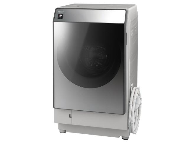 【代引不可】シャープ 洗濯機 ES-W111-SL [洗濯機スタイル:洗濯乾燥機 ドラムのタイプ:斜型 開閉タイプ:左開き 洗濯容量:11kg 乾燥容量:6kg] 【】【人気】【売れ筋】【価格】