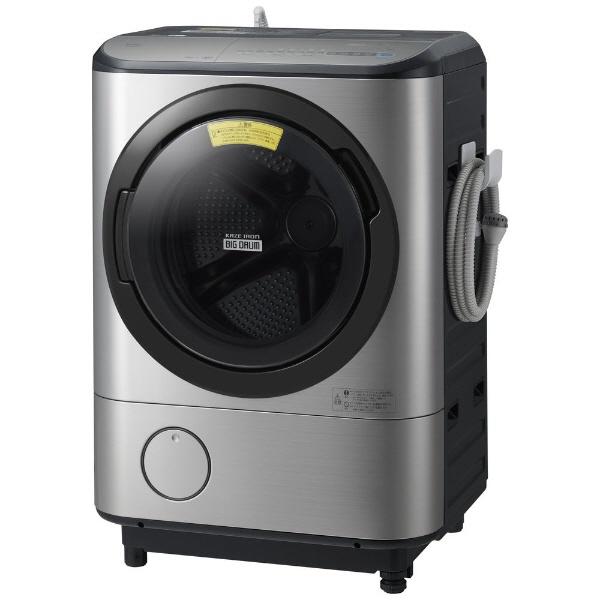 【代引不可】日立 洗濯機 ヒートリサイクル 風アイロン ビッグドラム BD-NX120CR [洗濯機スタイル:洗濯乾燥機 ドラムのタイプ:斜型 開閉タイプ:右開き 洗濯容量:12kg 乾燥容量:6kg] 【】【人気】【売れ筋】【価格】
