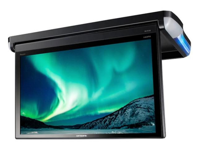 パイオニア 車載モニター TVM-FW1300-B [ブラック] [タイプ:天井 モニターサイズ:13.3インチ サイズ:385x37.8x242.5mm 重量:2.4kg] 【】 【人気】 【売れ筋】【価格】