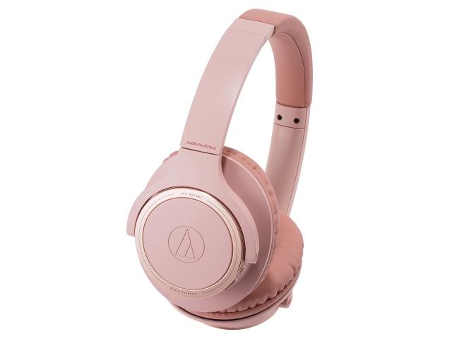 【キャッシュレス 5% 還元】 オーディオテクニカ イヤホン・ヘッドホン Sound Reality ATH-SR30BT PK [ピンク] [タイプ:オーバーヘッド 装着方式:両耳 構造:密閉型(クローズド) 駆動方式:ダイナミック型 再生周波数帯域:5Hz~35kHz]