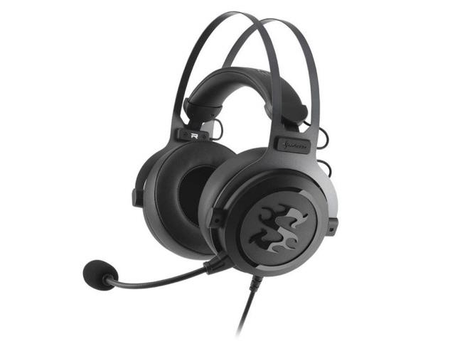 【キャッシュレス 5% 還元】 Sharkoon ヘッドセット SKILLER SGH3 SHA-SGH3 [ヘッドホンタイプ:オーバーヘッド プラグ形状:ミニプラグ 装着タイプ:両耳用] 【】 【人気】 【売れ筋】【価格】