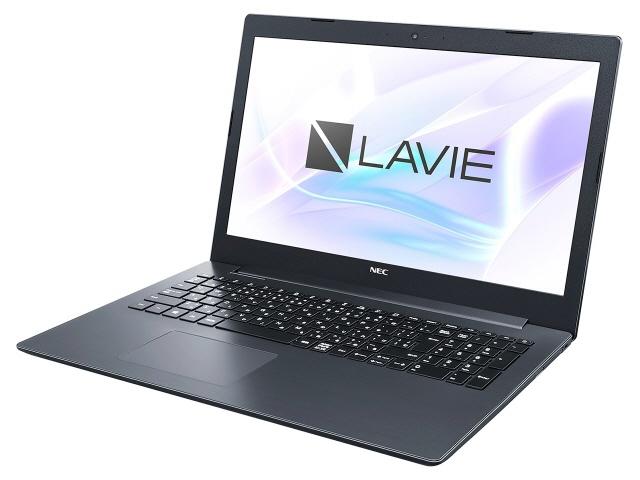 NEC ノートパソコン LAVIE Smart NS PC-SN11FLRDD-D [カームブラック] [液晶サイズ:15.6インチ CPU:Celeron N4000(Gemini Lake)/1.1GHz/2コア CPUスコア:1469 ストレージ容量:HDD:500GB メモリ容量:4GB OS:Windows 10 Home 64bit]
